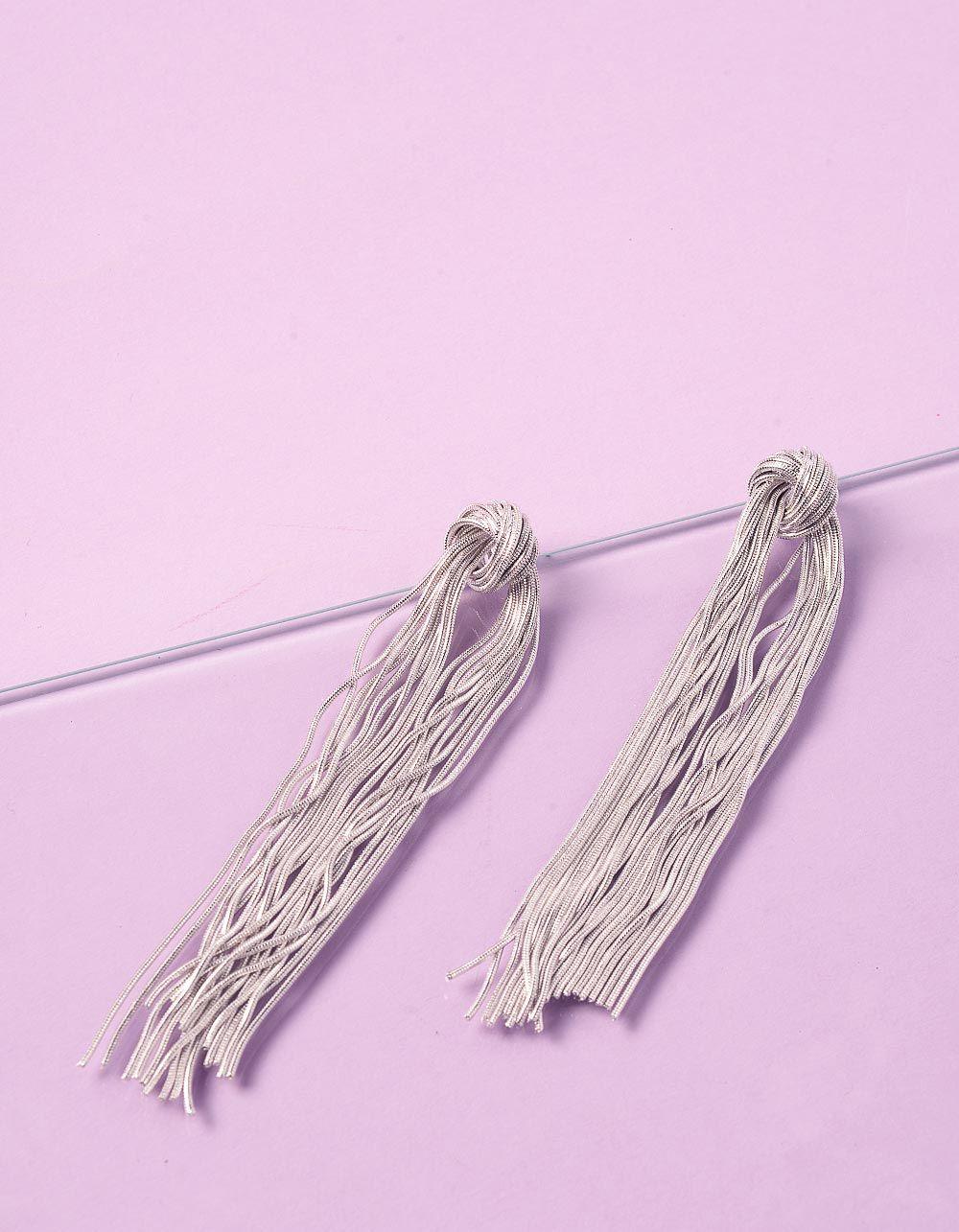 Сережки довгі великі з ланцюжків | 235915-05-XX