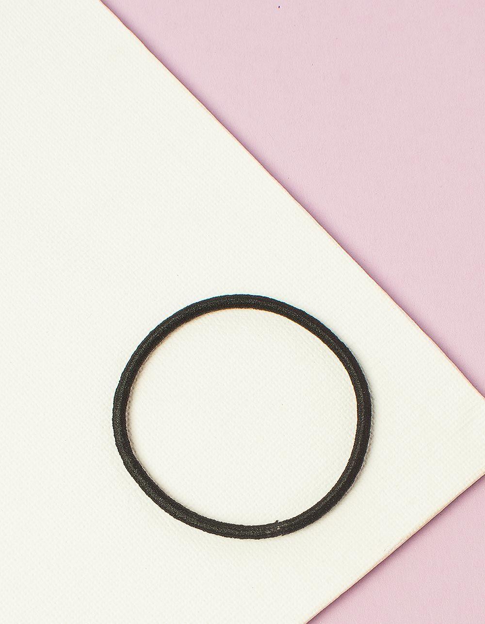 Резинка для волосся однотонна | 232621-02-XX