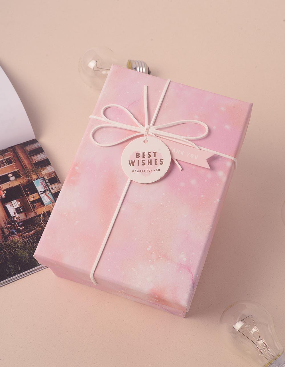 Коробка подарункова з бантом 8 х 19 х 8  см | 239655-14-XX