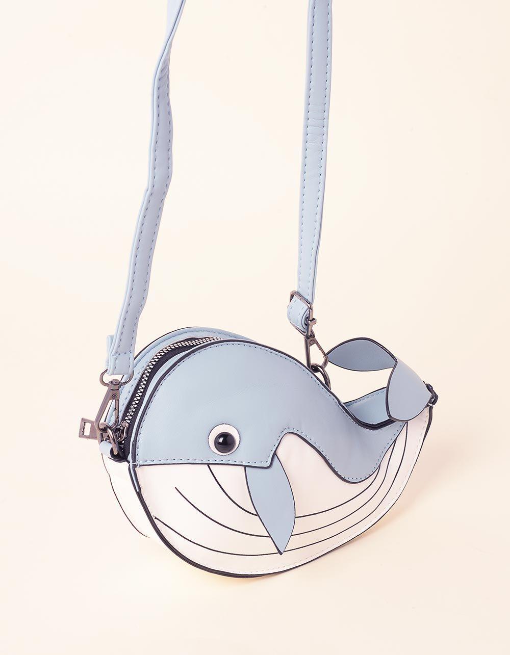 Сумка на плечевому ремені у вигляді кита | 237326-31-XX