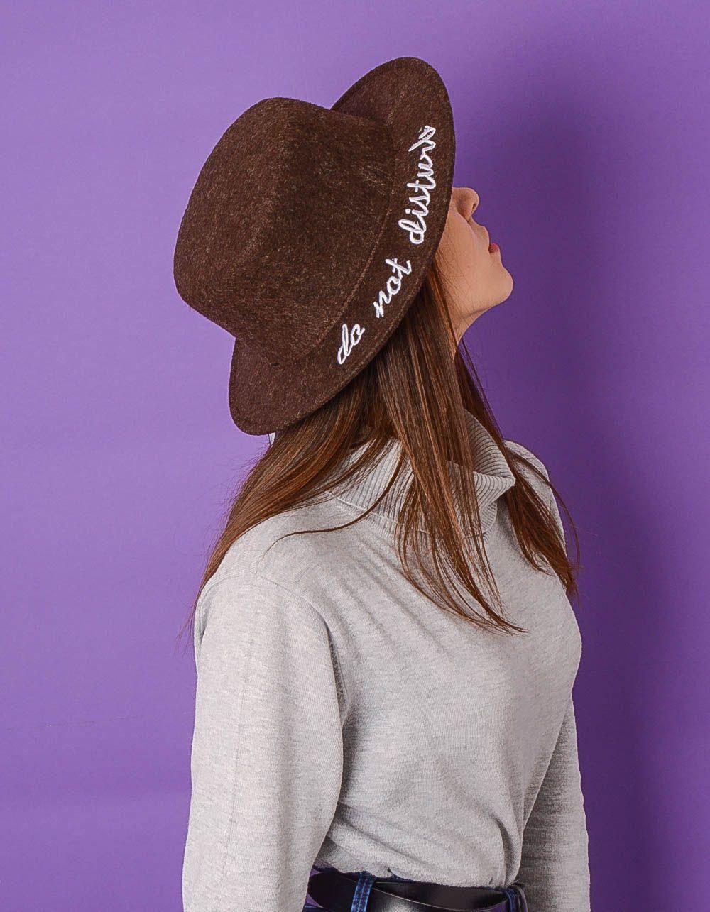 Шляпа канотье с надписью на полях | 234040-12-XX