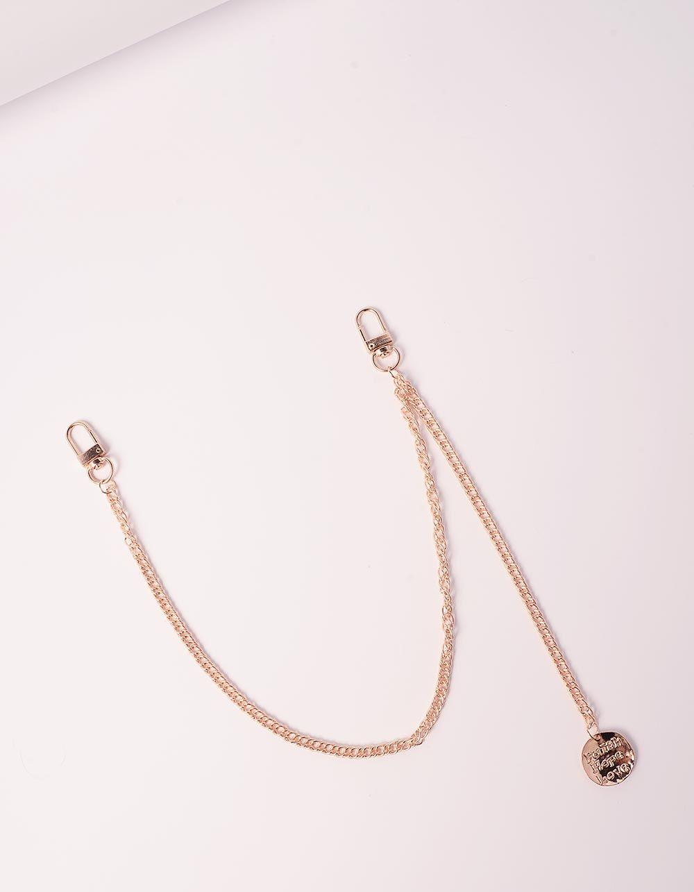Ланцюжок для одягу з медальоном | 239434-04-XX