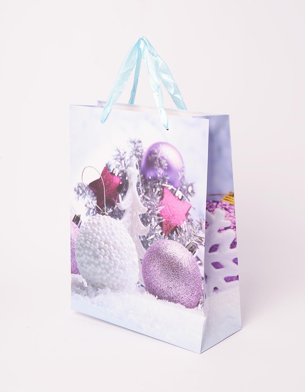 Пакет подарунковий новорічний | 240046-16-XX