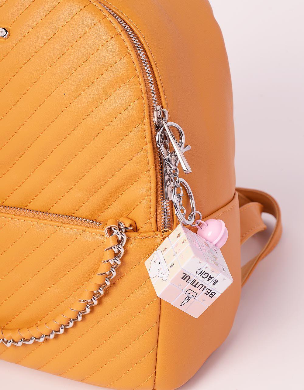Брелок на сумку кубік рубіка з молодіжними малюнками | 239183-50-XX