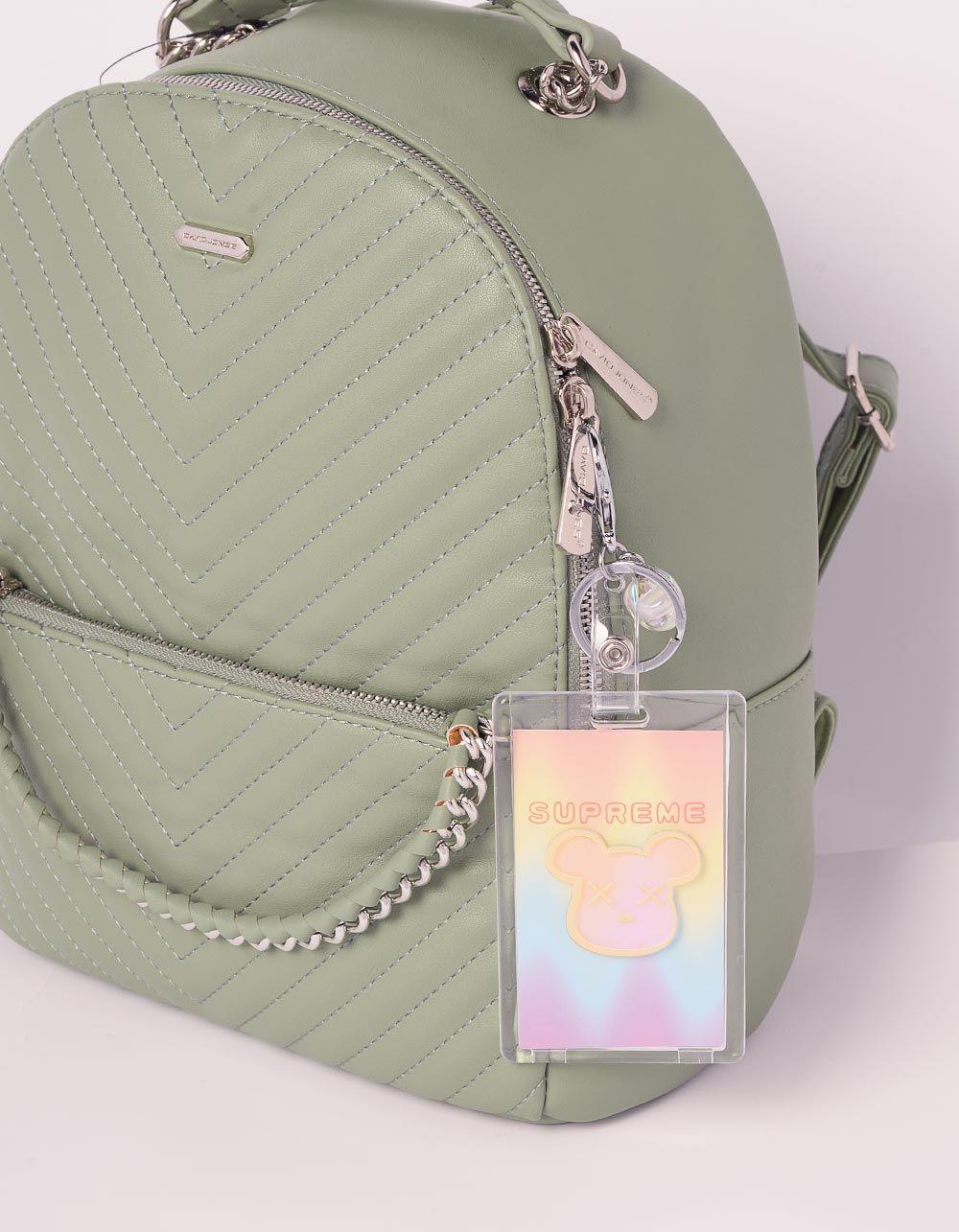 Брелок на сумку картхолдер із зображенням KAWS | 239182-21-XX
