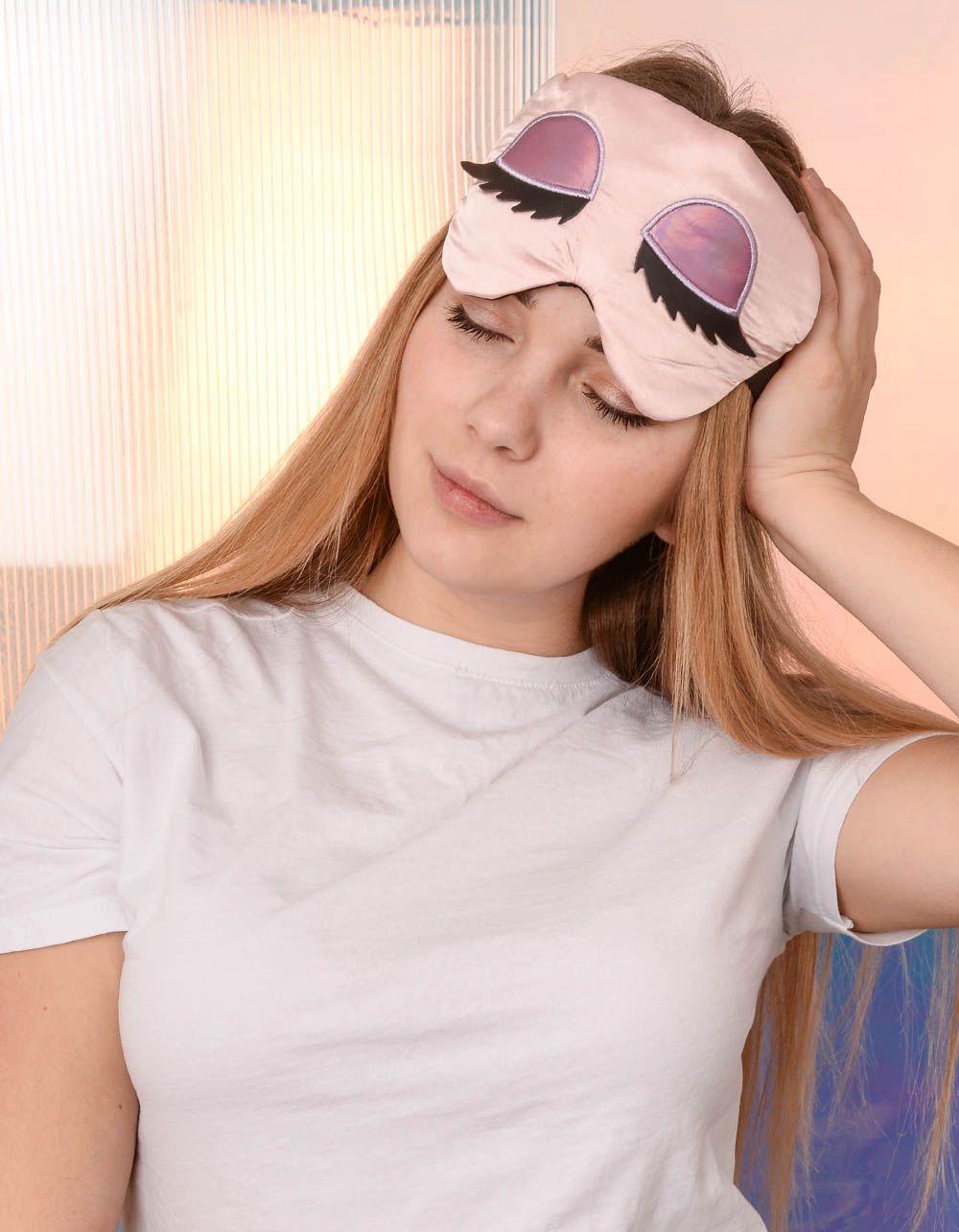 Пов'язка для сну з принтом очей | 239178-14-XX