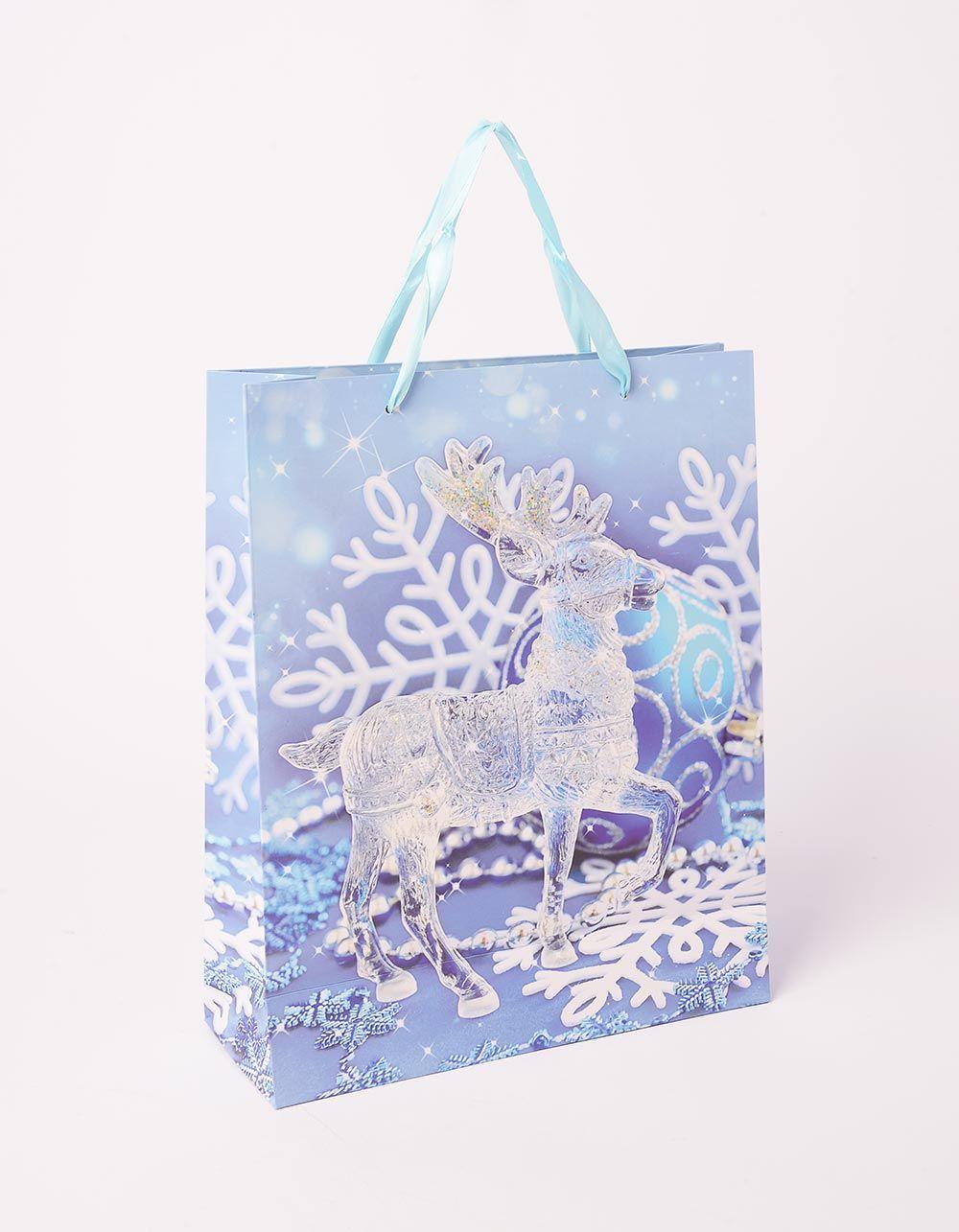Пакет подарунковий новорічний | 240046-18-XX