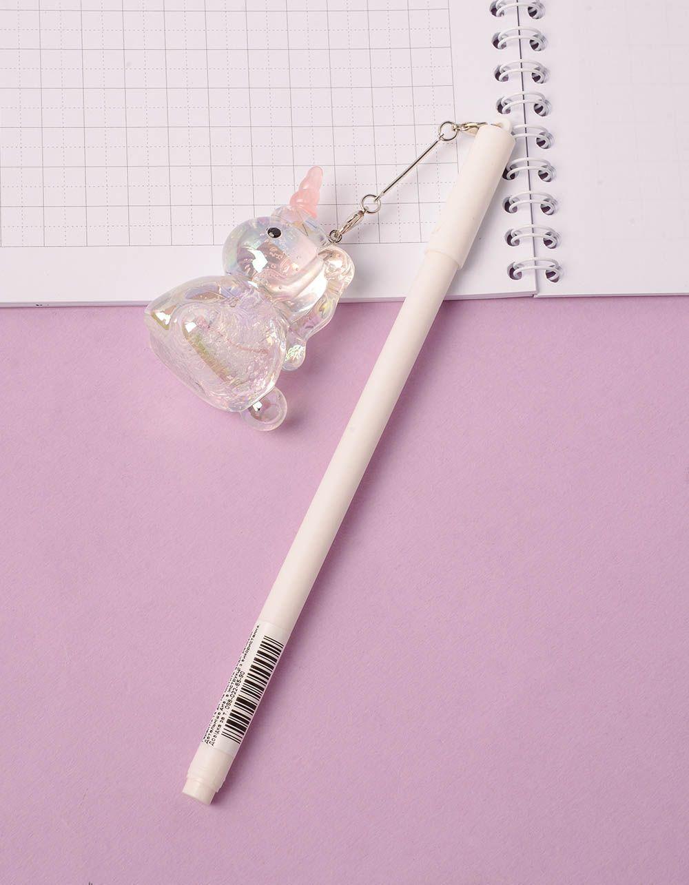 Ручка з брелоком єдинорогом | 237939-01-XX