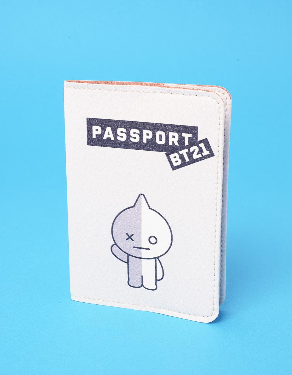 Обкладинка на паспорт з bts bt21 | 237247-11-XX