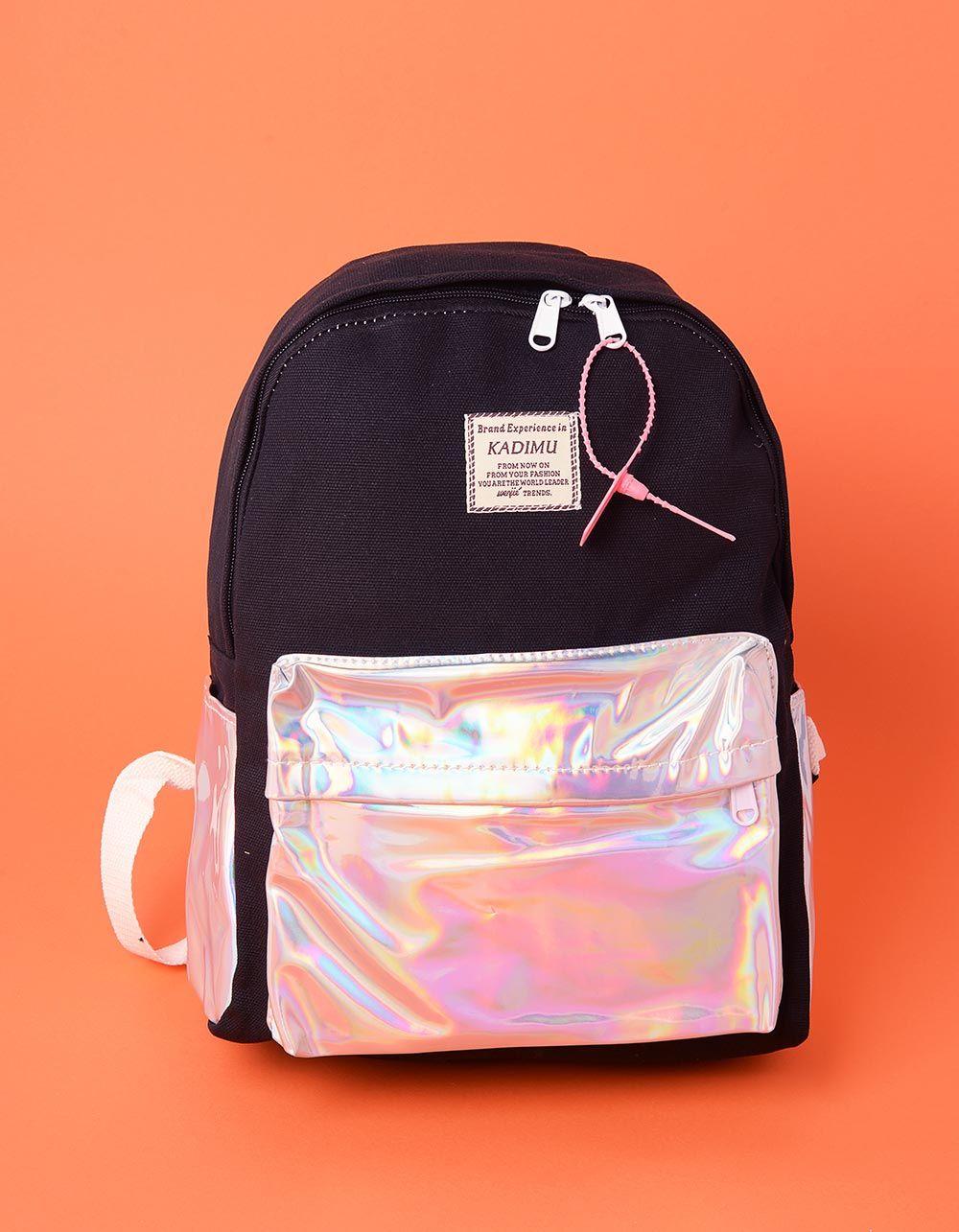 Рюкзак для міста з голографічними кишенями | 237653-02-XX