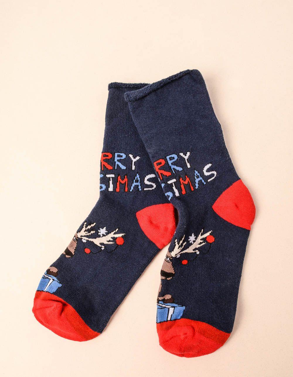 Шкарпетки із зображенням оленя   239274-30-XX