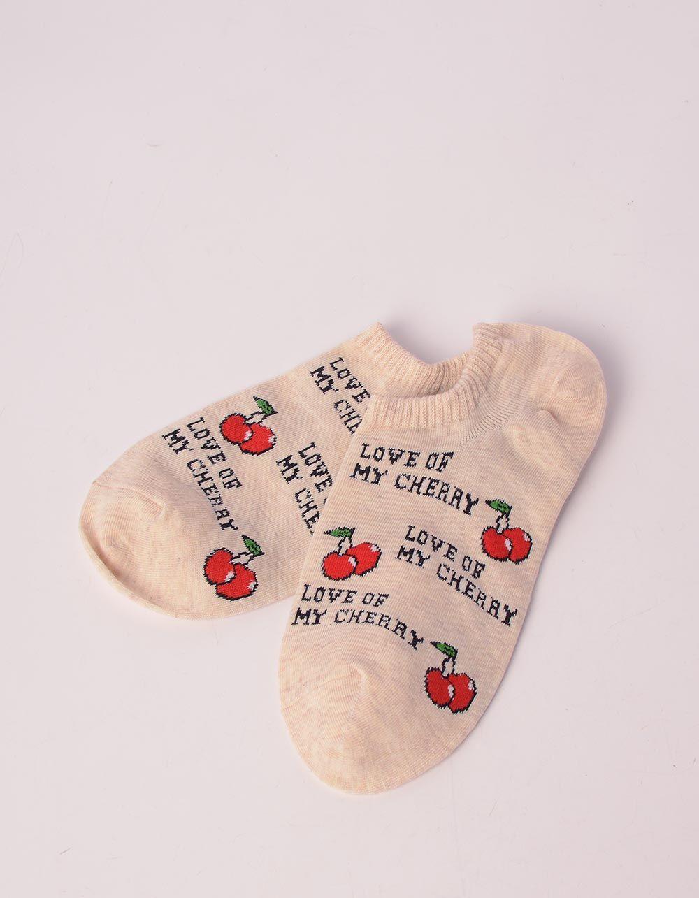 Шкарпетки з принтом фруктів | 241090-22-XX