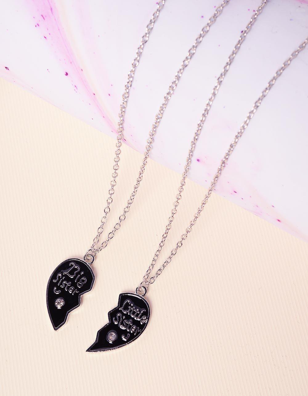 Підвіска френди парна з кулонами у вигляді серця | 227818-07-XX