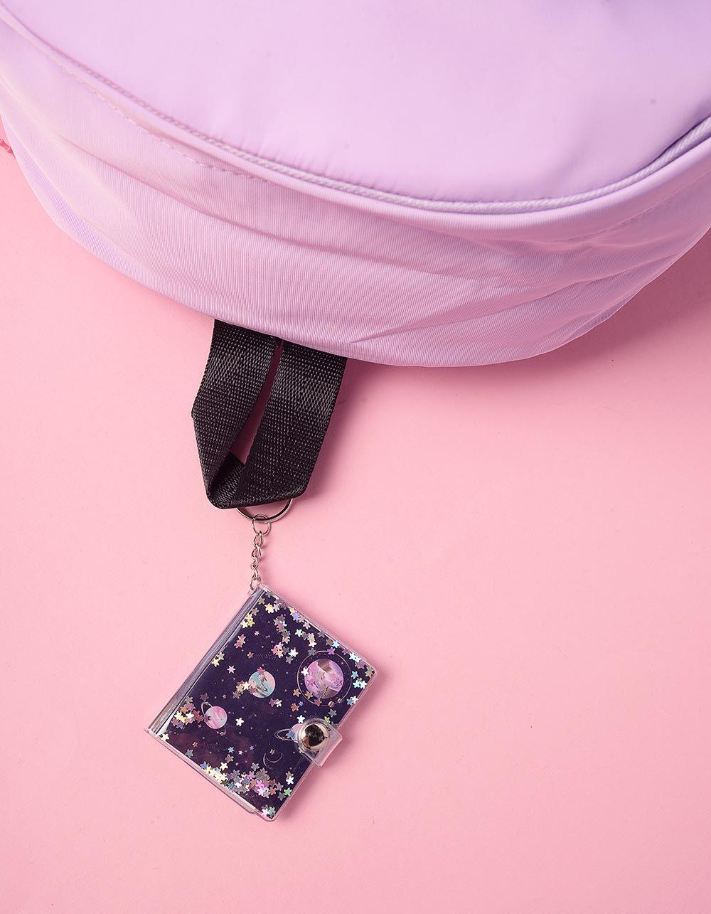 Брелок блокнот на сумку з зірочками | 239098-16-XX