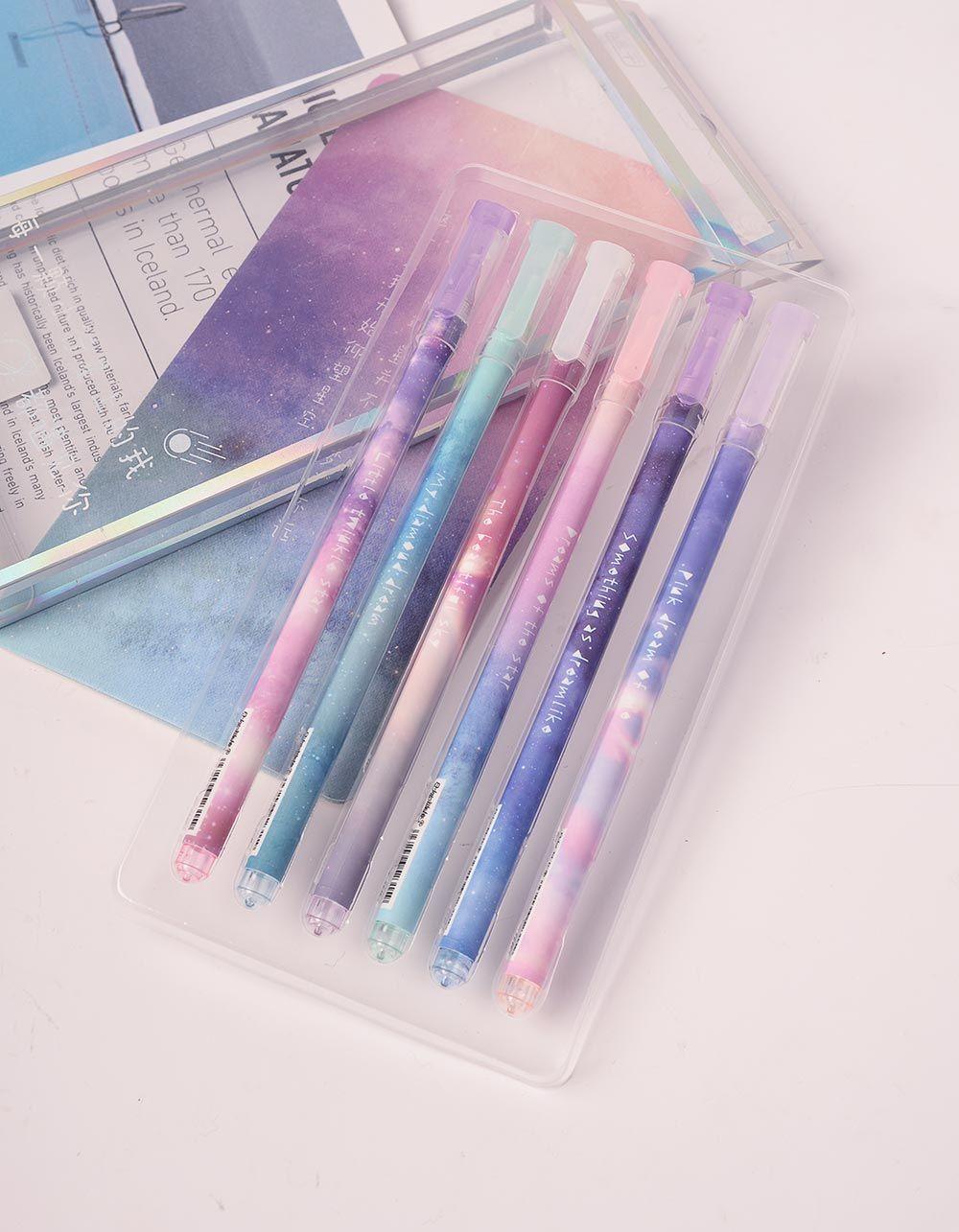 Ручки у наборі з принтом космосу | 238750-21-XX