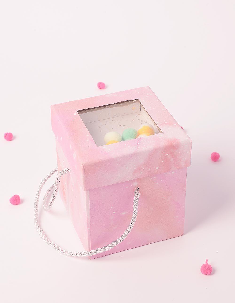 Коробка подарункова з кульками у кришці | 238461-14-XX