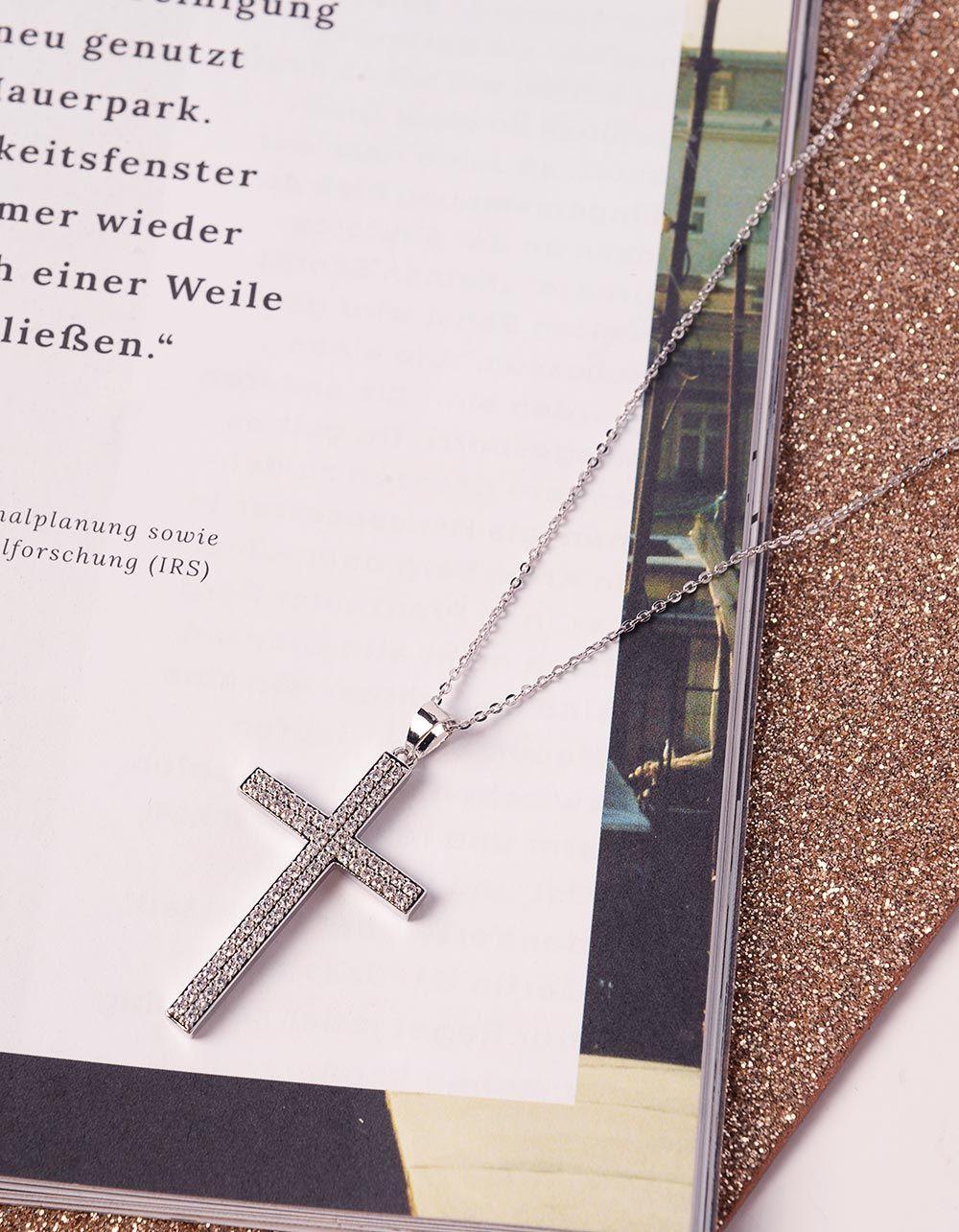 Підвіска з хрестом | 240802-06-XX