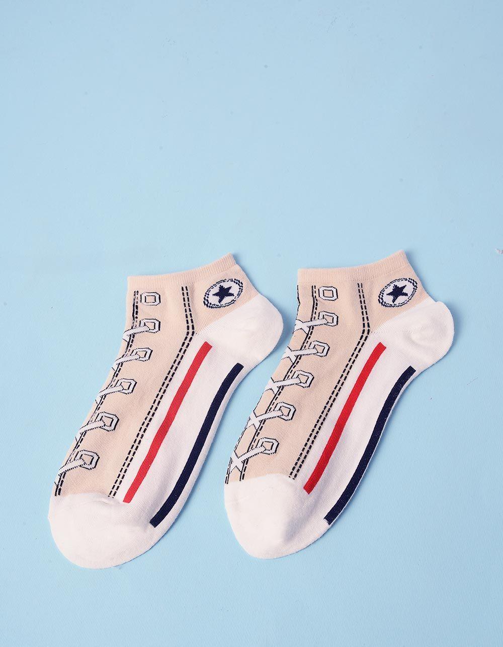 Шкарпетки з принтом кеди | 237639-22-XX