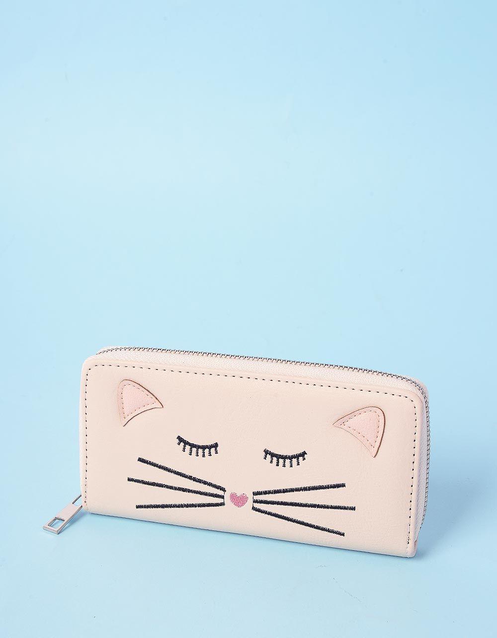 Гаманець з принтом кішки | 236443-22-XX