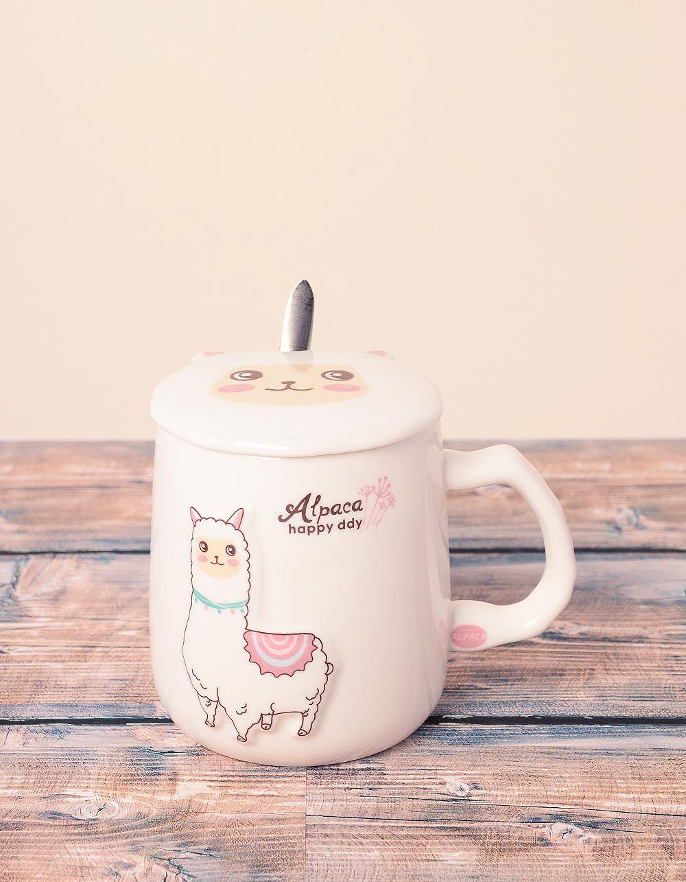 Чашка із зображенням альпака | 239030-01-XX