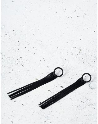 Сережки довгі зі стрічками | 234642-02-XX