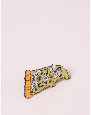 Брошка у вигляді піци з кицьками | 238086-19-XX