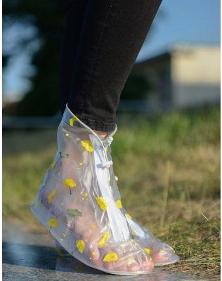 Чохли на взуття водонепроникні  з принтом | 235518-19-14