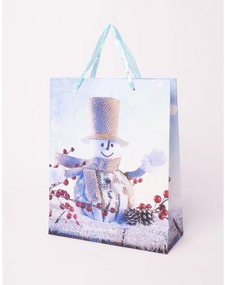 Пакет подарунковий новорічний | 240046-03-XX