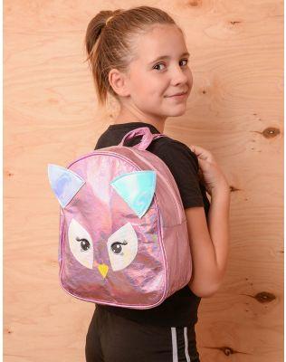 Рюкзак молодіжний у вигляді пугака голографічний | 237329-14-XX