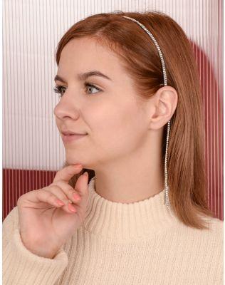 Обідок для волосся зі стразами | 238904-06-XX