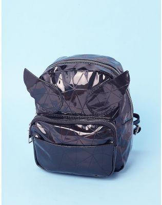 Рюкзак молодіжний лаковий з крилами | 237320-02-XX