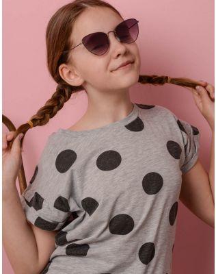 Окуляри дитячі сонцезахисні з тонкими дужками | 236182-02-XX