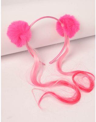 Обідок для волосся з помпонами | 239119-17-XX