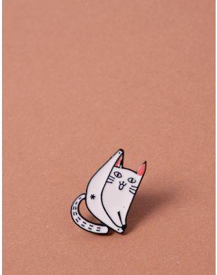 Брошка у вигляді кота | 238085-01-XX