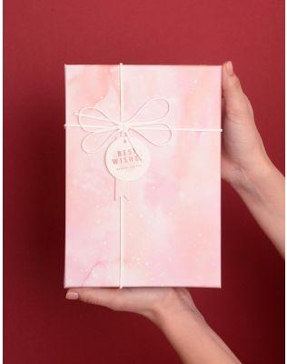Коробка подарункова з бантом   10 х 22 х 10 см | 238459-14-XX