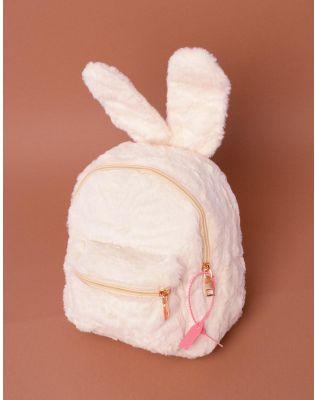 Рюкзак хутряний з вушками | 237646-40-XX