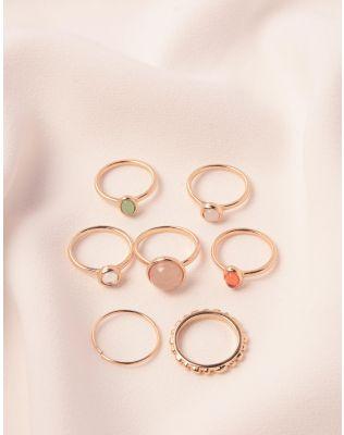 Кільця фалангові з камінцями | 238724-04-XX