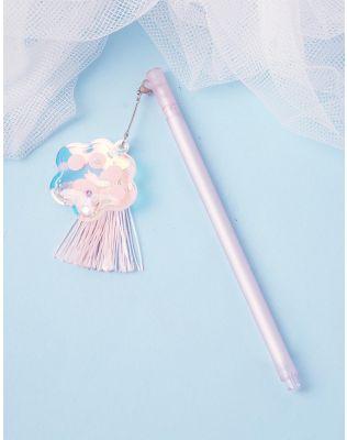 Ручка з китицею та квіткою | 237459-14-XX