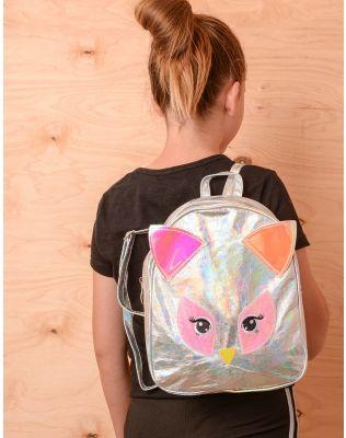 Рюкзак молодіжний у вигляді пугака голографічний | 237329-05-XX