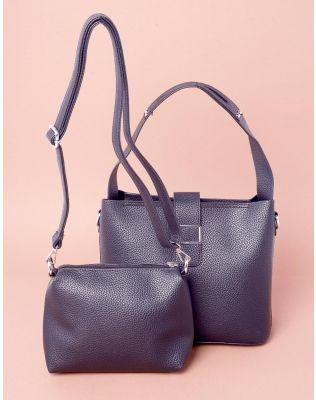 Сумка класична у комплекті з сумкою на плече   237609-02-XX