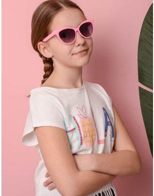 Окуляри cat eye дитячі сонцезахисні | 236190-14-XX