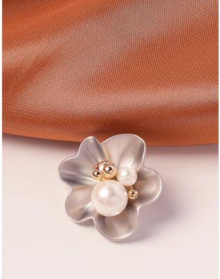 Брошка у вигляді квітки з перлинами | 239999-06-XX