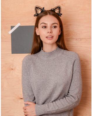 Обруч для волосся з мереживними вушками | 236845-02-XX