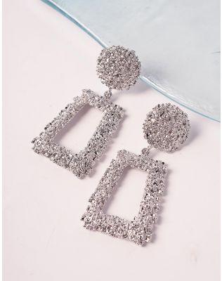 Сережки з рельєфним покриттям   239561-05-XX