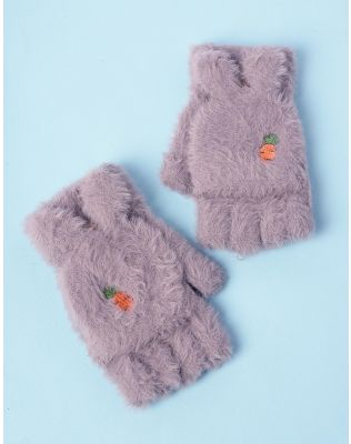 Рукавички мітенки з морквою | 235301-11-XX