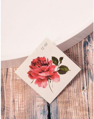 Тату тимчасове із зображенням квітки   238237-21-XX