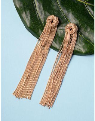Сережки довгі великі з ланцюжків | 235915-04-XX