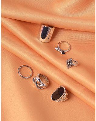 Кільця фалангові  з плетінням | 239989-07-XX