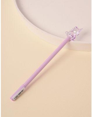 Ручка з прозорим єдинорогом | 237936-03-XX